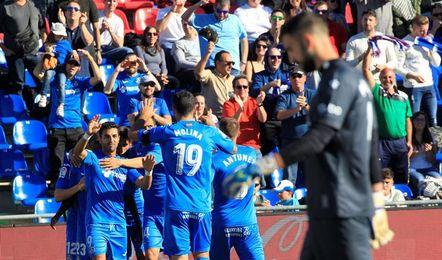 El Getafe jugará frente al Espanyol con tres de sus defensores apercibidos