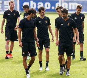 Zurutuza y Llorente, fuera de lista para el partido ante el Rosenborg