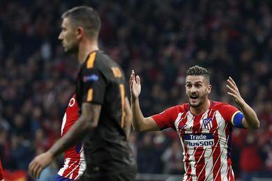 Griezmann y Gameiro dan la victoria al Atlético ante el Roma y le mantienen vivo