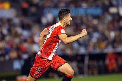 Juanpe, ausencia destacada en el entrenamiento del Girona