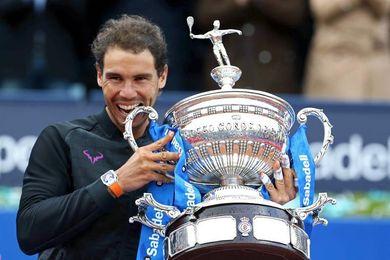 Rafael Nadal, número uno del mundo, confirma su participación en el Godó 2018