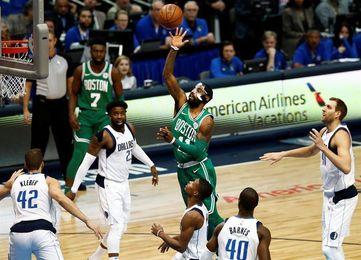 118-103. Irving y los Celtics recuperan la forma y vencen a los Magic