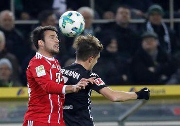 El Gladbach vence al Bayern y frena la racha de victorias de Heynkes