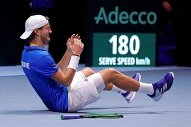 3-2. Pouille da a Francia el décimo título de la Copa Davis