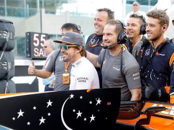 """Alonso: """"Estoy contento por haber acabado el año con buena sensación"""""""