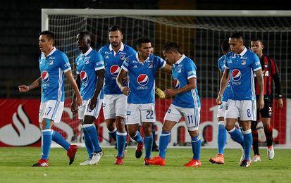 Millonarios y La Equidad abren con un empate los cuartos de final de la liga colombiana