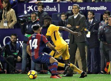 Muñiz sufrió ante el Atlético su peor derrota como técnico en Primera