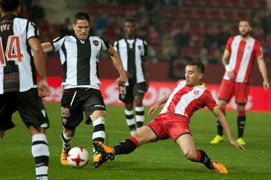 El Levante apela al marcador de la ida ante un Girona en mejor forma