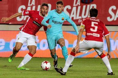 """El Murcia irá al Camp Nou """"con ilusión y ganas de competir"""", según Salmerón"""