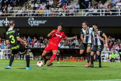 El Sevilla prepara el partido de Copa con Berizzo al frente de la plantilla