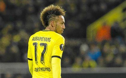 Aubameyang, objetivo del Chelsea para enero