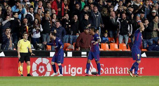 """Gayà: """"Se le están dando muchas vueltas al gol no concedido a Messi"""""""