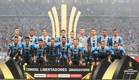 El Gremio se entrenó en la cancha de Lanús antes de la final de la Libertadores