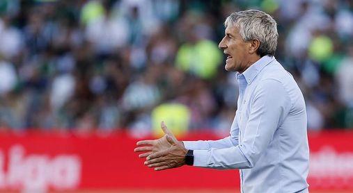 Setién empieza a preparar el partido copero ante el Cádiz
