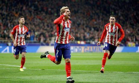 El gol de Griezmann, elegido por los aficionados el mejor de quinta jornada