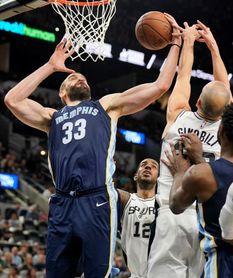 104-95. Aldridge y Spurs acentúan la crisis y racha perdedora de Grizzlies
