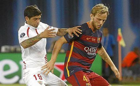 Una parte de Rakitic se quedó en Sevilla cuando firmó con el Barcelona.