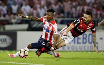 0-2. Vizeu firma un doblete y Flamengo se cita en la final de la Sudamericana con Independiente