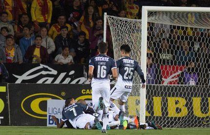 0-1. El colombiano Hurtado le da el triunfo a Monterrey en la ida de una de las semifinales del fútbol en México
