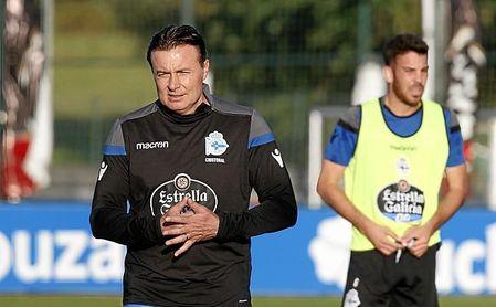 El entrenador del Deportivo