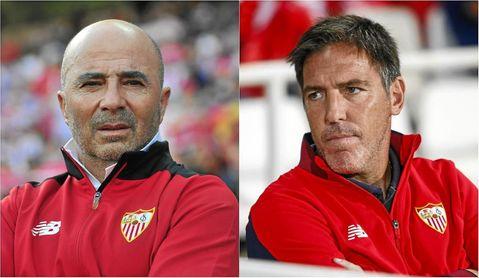 El Sevilla del ´Toto´ Berizzo mejora al de Jorge Sampaoli.