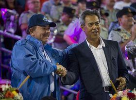 Presidente de Nicaragua inaugura los XI Juegos Deportivos Centroamericanos