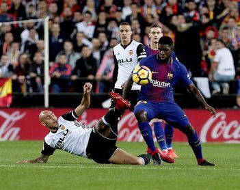"""Carles Puyol: """"Umtiti está entre los mejores centrales del mundo"""""""