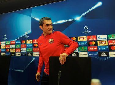 """Valverde: """"Por ahora tenemos dos centrales sanos"""""""