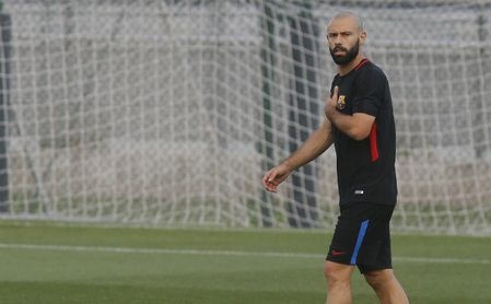 Mascherano quiere salir del Barça en enero