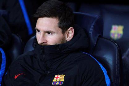 Messi empezará el partido ante el Sporting de Portugal desde el banquillo