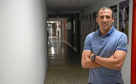 Óscar Arias, durante su entrevista a ESTADIO Deportivo.