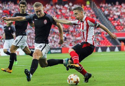 El Athletic se la juega en Ucrania y le vale el empate