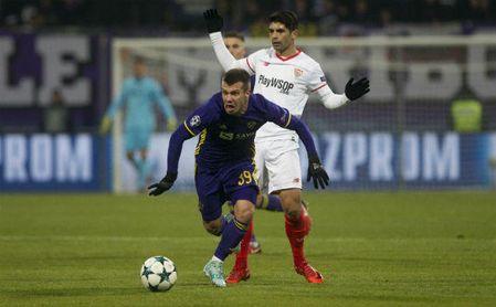 Maribor 1-1 Sevilla FC: Ganso derriba el muro
