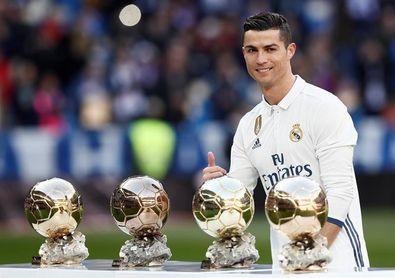 Ronaldo, favorito para ganar su quinto Balón de Oro e igualar a Messi