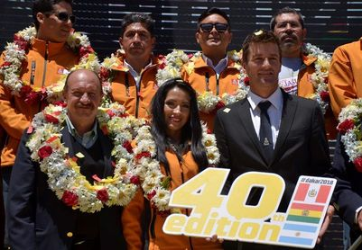 """Coma dice que Bolivia será un """"escalón importante"""" en el Dakar 2018"""