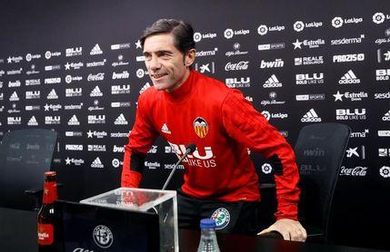"""Marcelino: """"La derrota en Getafe es historia y no debe influir ante el Celta"""""""