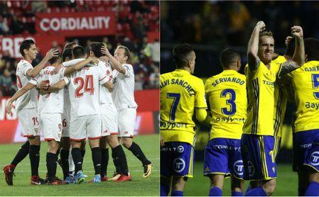 Horario para el Cádiz-Sevilla F.C. de Copa del Rey.