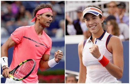 Rafa Nadal y Garbiñe Muguruza, los mejores de 2017 para la ITF