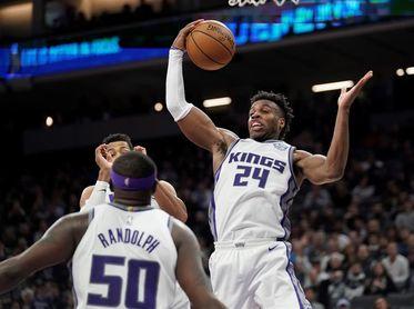 109-116. Randolph logra un doble-doble en la victoria de los Kings sobre los Pelicans