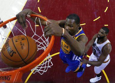 98-102. Ante los Pistons, Durant logra un doble-doble y los Warriors amplían su racha triunfal