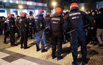 Pasan a disposición judicial los 5 hinchas rusos detenidos en San Sebastián