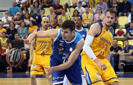 87-80. Gran Canaria decide en el último cuarto y vence con apuros a Burgos
