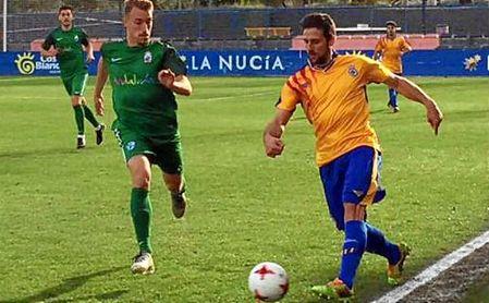 Mario Begines en un lance del encuentro ante la Comunidad Valenciana