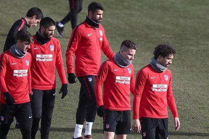 Vrsaljko de lateral y Correa-Gameiro en ataque; y el Betis con Boudebouz