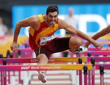 Un decatleta, Jorge Ureña, mejor atleta español por primera vez en 25 años