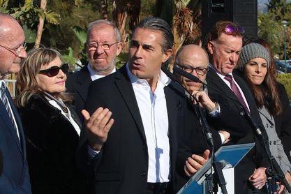 Scariolo inscribe su nombre en el Paseo de las Estrellas del Deporte de Málaga