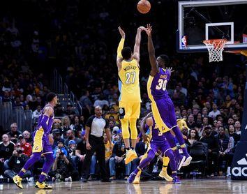 84-103. Murray y los Nuggets agravan la crisis de los Pistons