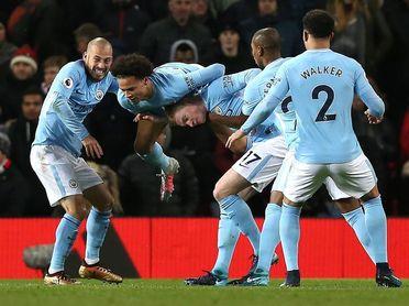 El Manchester City golea al Swansea (0-4)