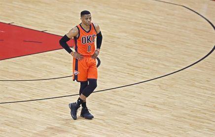 117-119. Westbrook logra triple-doble para los Thunder