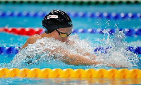 Jessica Vall se cuelga el bronce en los 100 braza